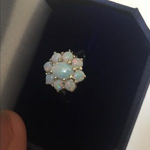 Real 9 opal ring size 7!